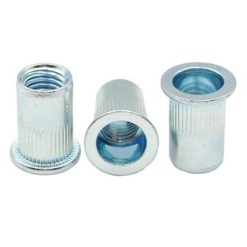 M8 Nitónové skrutky Cylindrické valce 1000ks 1000PCS 1000PC