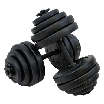 Dumbbell 30kg 2x15KG 2 x činky Set of Dumbbells