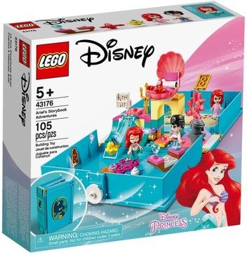 LEGO PRINCESS 43176 Kniha Arieliných dobrodružstiev