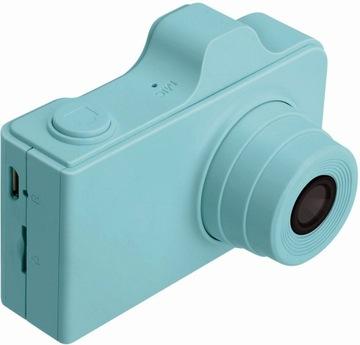 Digitálny fotoaparát fotoaparátu pre deti + samolepky + vodítko