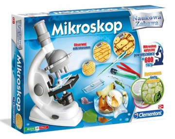 Vedecká hračka Clementoni MICROSCOPE 60467