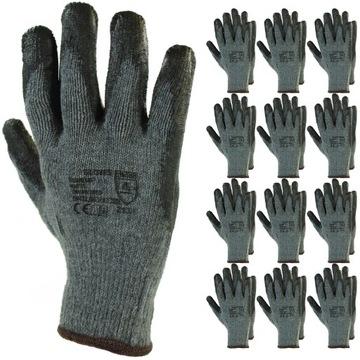 12 párov Rukavice Pracovné rukavice R.10 Rukavice