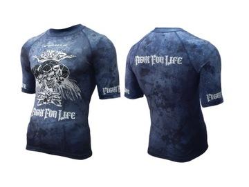 Profesionálne tričko bojových umení. Rashguard