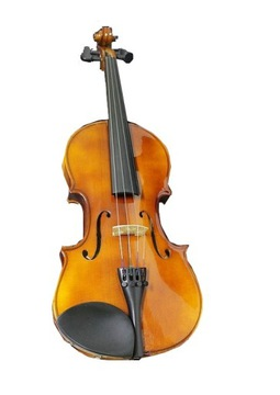Krásne husle 4/4 = lute = nemecká kvalita ok