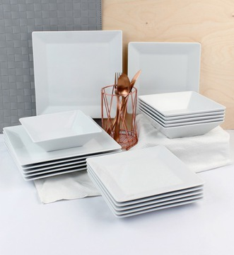 Lubiana Classic Dinner Service 18 EL / 6 OS