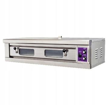 Silná pizza rúra 2x40cm pizzeria 5,2 kW 400V FV