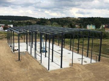 Oceľová konštrukcia 200m2 (10x20x4m)