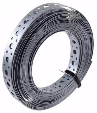 Perforovaná montážna páska 0,6x17mm 25m spiro