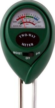 Substrátový tester pH meter vlhkosť pôdy 071505