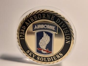 Challenge mince - americká armáda 173rd Airborne Division
