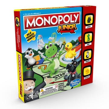 Monopoly Junior New Edition Polska verzia A6984