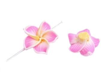 FM-016 KVETY JARNÁ DEKORÁCIA 20ks 3cm ružové