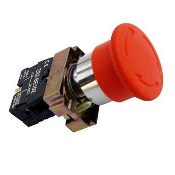 Hubovské bezpečnostné tlačidlo GB2-BS542, FV / GW