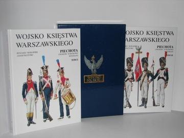 Armáda vojvodstva Varšavy. Pechota