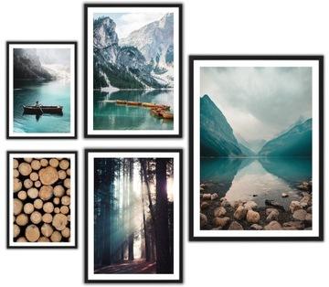 Zarámované plagáty, moderné obrazy VEĽKÉ hory les