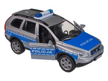 AUTO policajné auto POLICE CAR svetlo ZVUK volvo