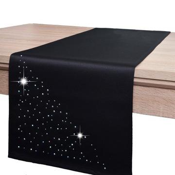 dekoratívna lišta KRYSTAL 40x140 odolná proti škvrnám čierna