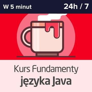 Kurz programovania v jazyku Java + certifikát automatu na 24 hodín