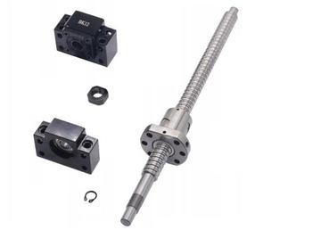 Guľová skrutka 250 mm 1605 + NUT + BK12 / BF12 CNC