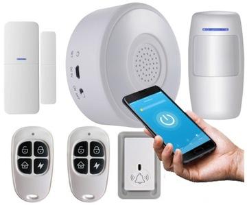 Oznámenie o pohybe dverí TUYA Smart Alarm WiFi