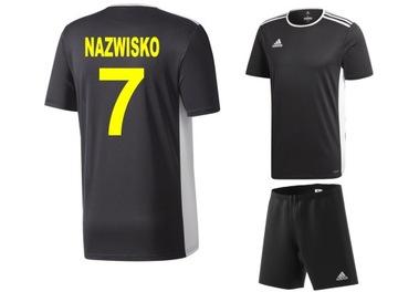 Adidas nastaviť futbalové oblečenie s tlačou 164cm