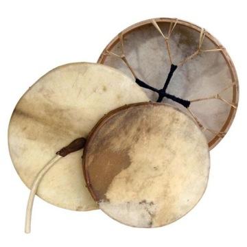 Šamánsky bubon s pokožkou Goat Smooth - 60cm + Stick