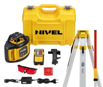 NIVEL System NL500 Laserová úroveň + PATCH + TRIPOOD