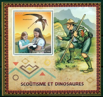 Scouting Scouting Scauci a Dinosaury ** # CON 1580