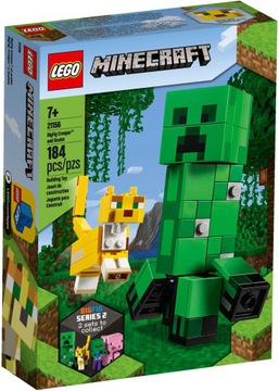 Stavebnice LEGO® MINECRAFT BigFig Creeper Ocelot 21156