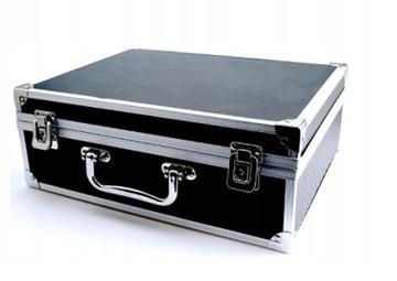 Hliníkový kufra pevné zbrane zariadenia DJ Fotoaparát