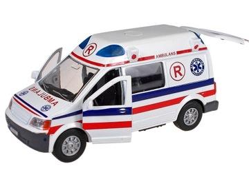 Ambulantná sanitka. NÚDZOVÉ auto. KOV