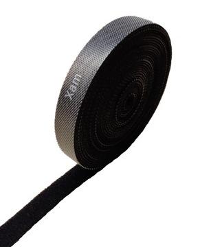 Kábel Organizátor pásky pásky Velcro suchý zips 10mm 5m