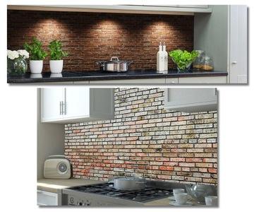 Fototapeta do kuchyne, umývateľné tehlové lepidlo na stenu