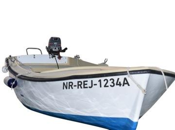 Registračné čísla Vodotesná loď loď jachta