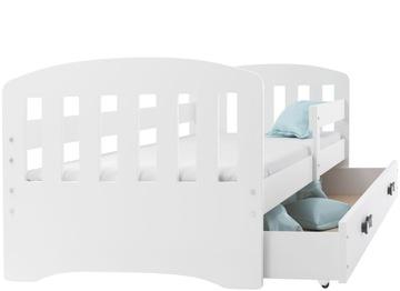 Detská posteľ HAPPY 160x80 + matrac + zásuvka