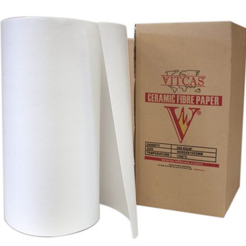 Izolačný keramický papier 1260 ° C.2mm 0,5 MB