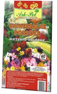 Univerzálny substrát s hnojivom Zem pre kvety 60