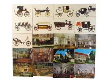 Pohľadnice pohľadnice klasps hrad Łańcut č. 174