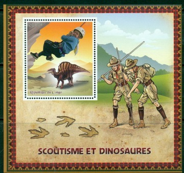 Scouting Scouting Scauci a dinosaury ** # CON1581