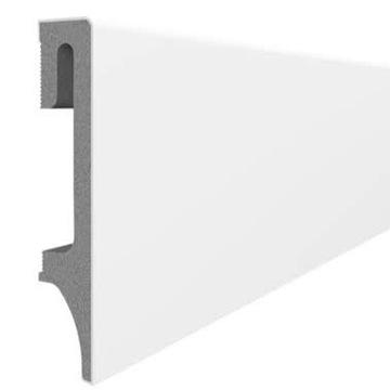 Soklová lišta ESPUMO ESP 201 VOX 80mm biela