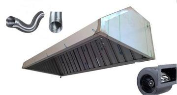 Gastronomická kapucňa 200/70/40 Turbine XL regulátor