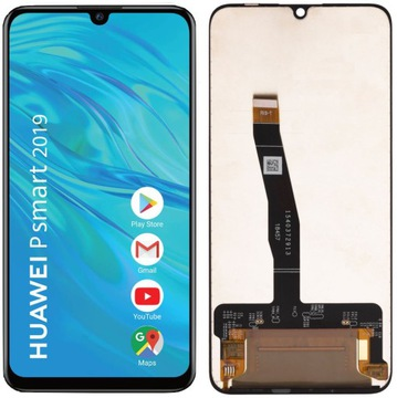 LCD displej TOUCH HUAWEI P SMART 2019 POT-LX1