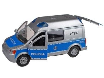 AUTOMATICKÁ RÁDIOVÁ PREPRAVA POLÍCIA auto s poľským dialógom