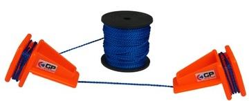 Napínací string murivo pvc + reťazec 100 MB