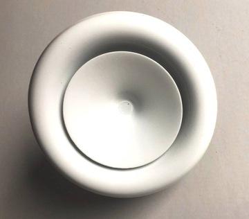 Difúzor prívodu 100 biely, mriežka ventilového rámu