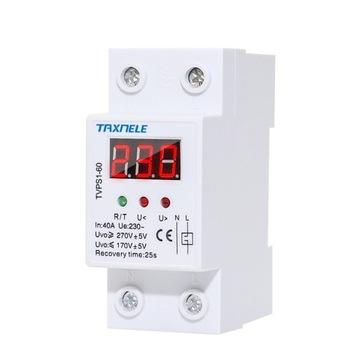 Riadiace relé pre riadenie napätia 1F / 40A LED