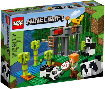 LEGO MINECRAFT Škôlka Panda 21158