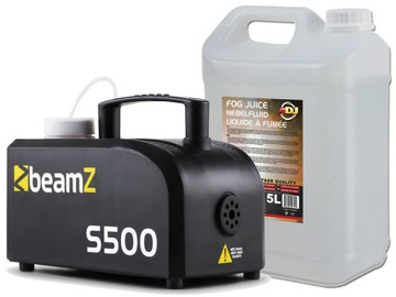 Generátor dymu BEAMZ S500 + BANIAK SMOKU