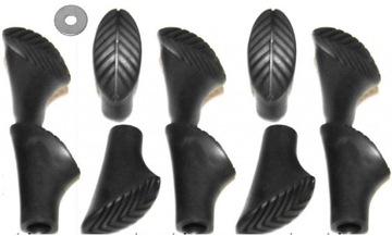 Topánky Tipy Foot Cap Nordic Stick 10 ks
