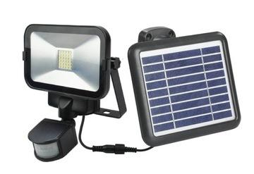 Solárna lampa so snímačom pohybu v zime silná!